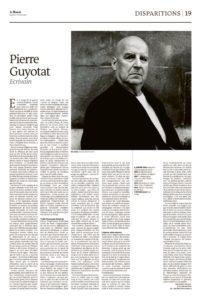 thumbnail of Le Monde daté 11 février 2020
