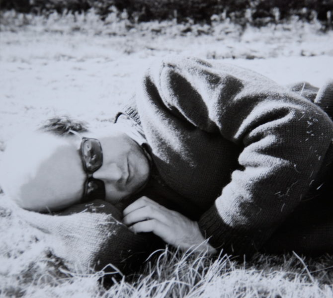 Pierre Guyotat - sieste en Creuse